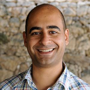 Nashat Filmen, generalsekretær i Det Palestinske Bibelselskapet. Foto: Dag K Smemo